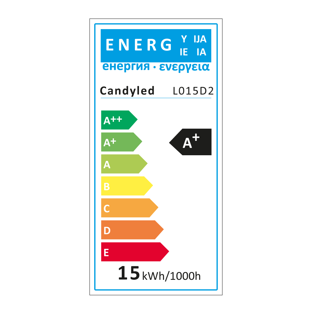 Lampe LED 15W Candyled Marquage CE