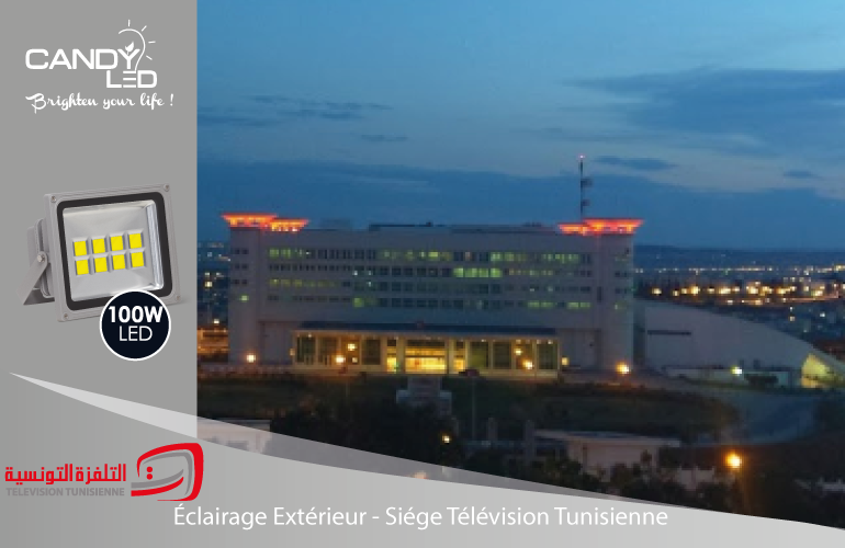 Projecteur References Candyled Television Tunisienne