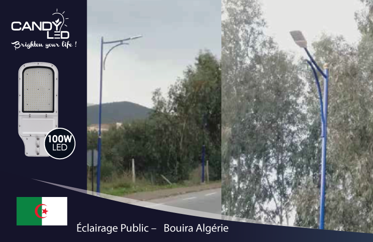 Eclairage Public References Candyled Bouira Algerie Citylight