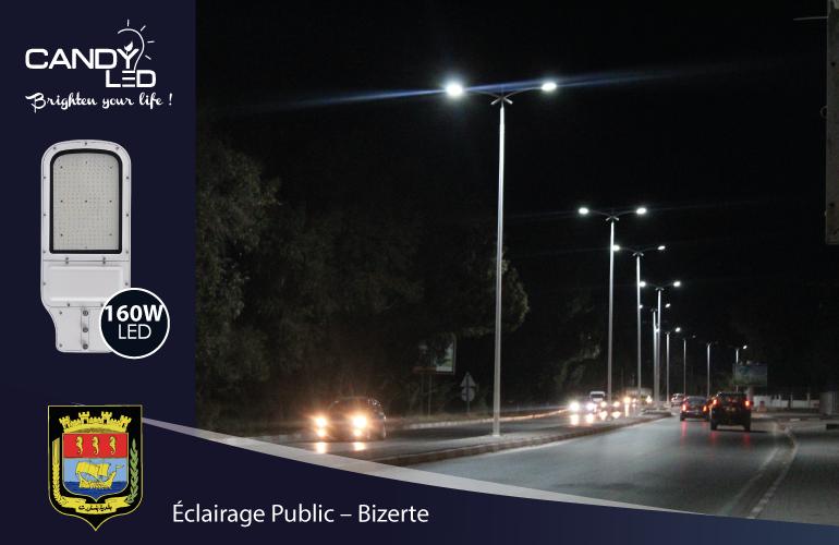 Eclairage Public Candyled References Bizerte Citylight