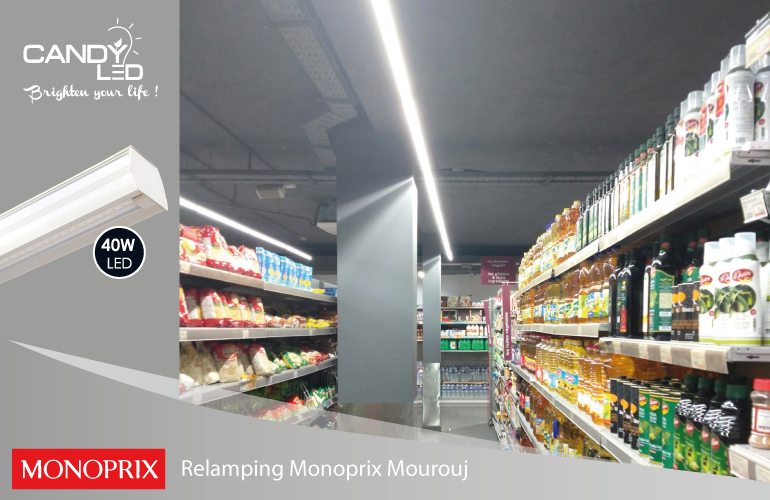 Lineaire LED Candyled References Monoprix Mourouj