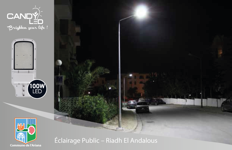 Eclairage Public References Candyled Riadh Andalous Citylight