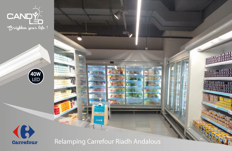 Lineaire LED Candyled References Carrefour Riadh Andalous